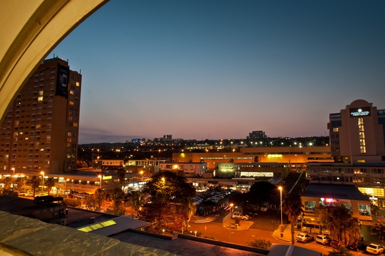 Stunning Balcony Evening View, 506 Lighthouse Mall
